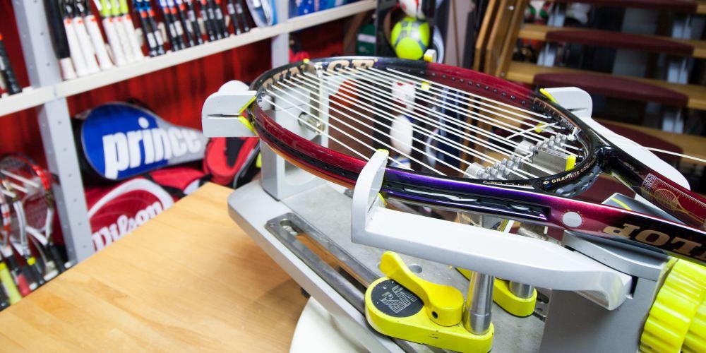 winkel - tennisracket