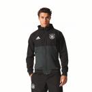 Duitsland Trainingspak zwart grijs 2016/2017 (735)